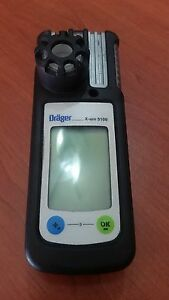 Draeger Handheld 4542154 X am 5100 Gas Detector Hydrogen Peroxide H202 0 20 Ppm