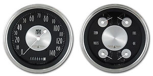 Classic Instruments All American Tradition Series 2 Gauge At52slc Kph Speedo
