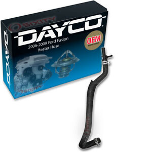 Dayco Heater Hose For 2006 2009 Ford Fusion 3 0l V6 Connector To Engine Yx