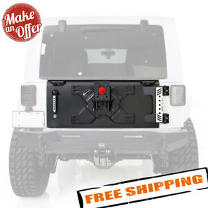 Smittybilt 76410 Xrc Tailgate With Tire Carrier For 2007 2018 Jeep Wrangler Jk