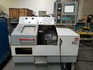 Haas Mini Lathe 5c Collet Gang Tool Fast With The Haas Control Mfg 2003
