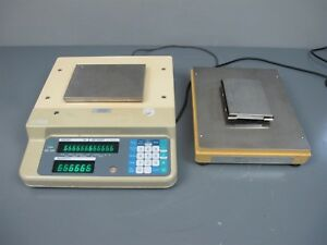 Digi Matex Dc 120 Digital Counting Scale W metrodyne Model Ep