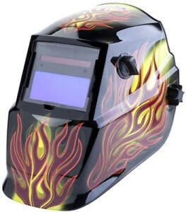 Lincoln Electric Solar Welding Helmet 9 13 Variable Shade Auto darkening Lens