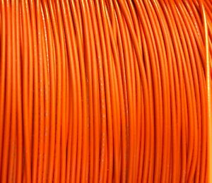 1000 Reel Ul1007 20 Awg Orange Hook Up Lead Primary Wire Tinned Stranded 300v