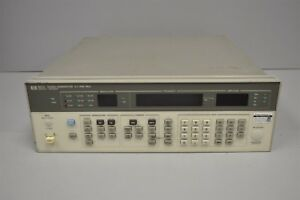 Hp Signal Generator 0 1 1040 Mhz 8657a Opt 002