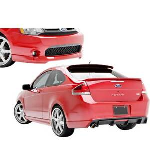 3dc Urethane Body Kit 4pc 2dr Coupe For Ford Focus 09 11