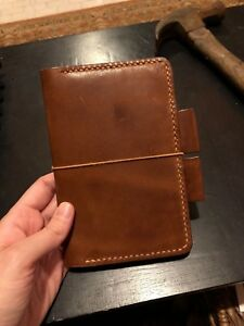 Field Notes Leather Cover Harness Leather Euc