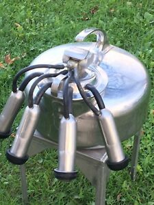 The Surge Cow Or Dairy Milker Stainless Steel Babson Brothers Co w C Pulsator 18