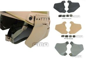 FMA Tactical Airsoft Helmet Side Covers Ear Protection for MICH Fast Helmet Rail
