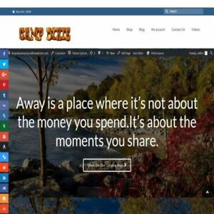 Camping Shop Mobile Friendly Responsive Website Business For Sale Hosting