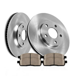 Front Disc Brake Rotors And Ceramic Pads For Mazda 3 And Cx 3