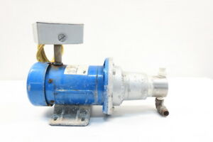 Micropump Mag drive External Gear Pump 1 2in Npt 1 3hp