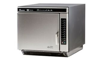Amana Accelerated Cooking Ace19v Commercial High Speed Oven Stainless Steel