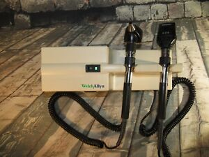 Welch Allyn 767 Series Transformer With Otoscope Ophthalmoscope 11720