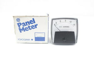 General Electric Ge 250240ndnd Panel Meter 0 15a Amp Ammeters
