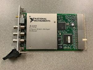 National Instruments Pxi 5102 Digitizer Card Ni Daq Scope See Description