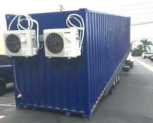 40 Foot Shipping Container W 200 Amp Electrical Wiring Use As A Grow Room