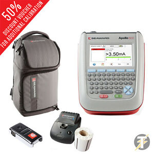 Seaward Apollo 600 Pat Tester Optional Pro Bt Printer Scanner Software Bag