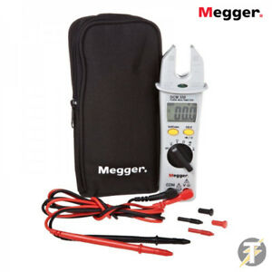 Megger Dcm330 Digital Fork Multimeter Ac Up To 200a W Continuity Buzzer