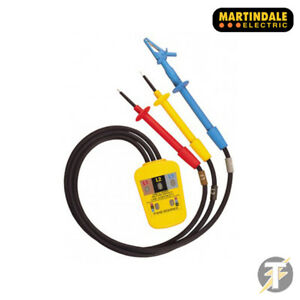 Martindale Pc15250 Phase Rotation Continuity Indicator