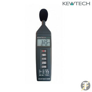 Kewtech Kew325 Sound Level 32db 130db Meter Tester