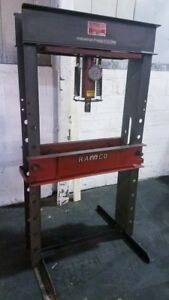 Ramco rp55 55ton Hydraulic H frame Press