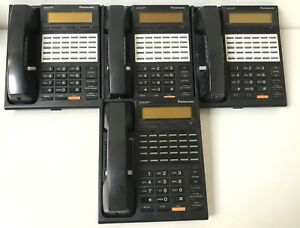 Lot Of 4 Panasonic Kx t7230 Lcd 24 line Office Business Phones