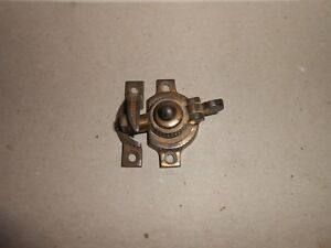 Antique Eastlake Sash Latch Patent Date 1875