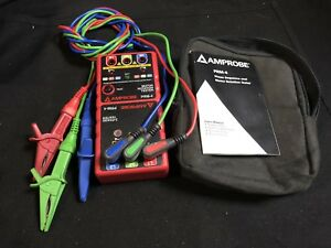 Amprobe Prm 4 Motor Rotation Tester And 3 phase Tester Br