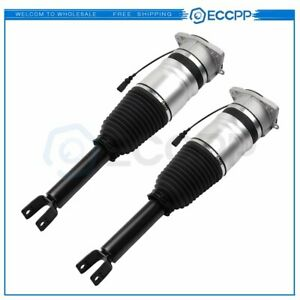 Rear Pair Air Suspension Shocks For Vw Phaeton Bentley Continental Gt Gtc