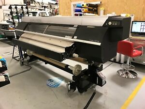 Okidata Colorpainter H2 74s 74 Wide Format Solvent Printer