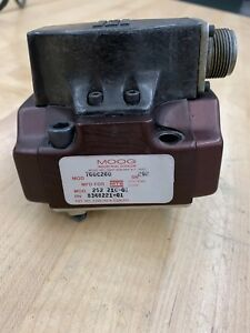 Mts moog 760c260 Servo Valve Untested See Description