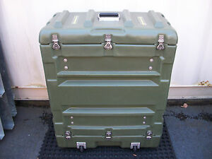 Hardigg Pelican Military Medical Storage Shipping Rack Shock Mount Hard Case