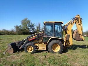 2004 Caterpillar 420d It Backhoe 4wd Extenda hoe Only 945 Hours