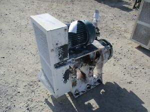 Giw Iron Pump With Motor And Base 109930c used