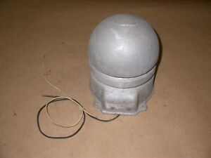 Vintage Ademco Security Air Raid 12 Volt Siren Beehive Shape