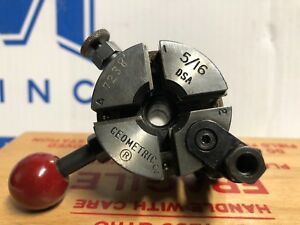 5 16 Dsa Geometric Thread Cutting Die Head W 5 8 X 1 1 4 Shank W Custom Box