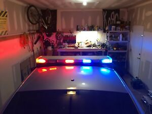 Whelen Lfl Liberty Led Lightbar Police Fire Emt P71 9c1 Working Conditionsx8bbrr