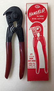 Hk Porter Handklip Wire Cutter No 0690c Made In Usa Brand New
