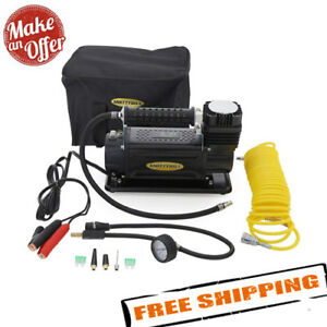 Smittybilt 2781 Air Compressor Portable Kit 12 Volt W Bag 5 65 Cfm 24 Hose