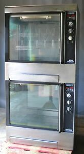 Hobart Hro550 Commercial Rotisserie Oven Double Stacked