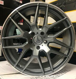 22 Wheels Fit Mercedes Toyo Tires G Wagon G55 G550 G500 Amg G63 Gunmetal Rims