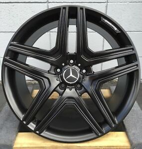 22 Wheels Fit Mercedes Rims Toyo Tires G Wagon G55 G550 G500 Amg G63 Black Rims