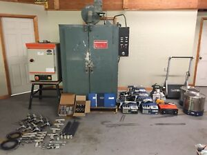 Nordson Gema Grieve Powder Coat Wholesale Lot
