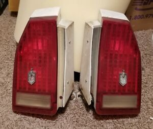 1987 88 Monte Carlo Tail Lights With Housings