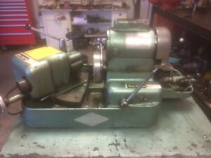 Kwik way Green Valve Grinding Machine 1 3hp Nice Condition Stand Not Incl