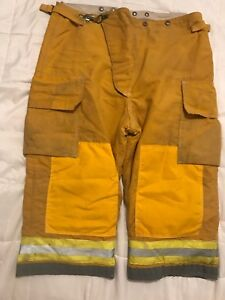 Globe Firefighter Turnout Gear Bunker Turnout Pants W Liner 44 X 22 Short