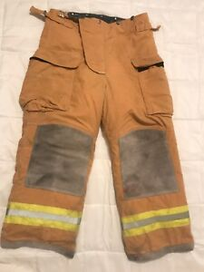 Lion Bodyguard Firefighter Turnout Gear Bunker Turnout Pants W Liner 36 X 28