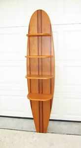 Commercial Quality Surfboard Shelf Retail Display Shelves Excellent Condition