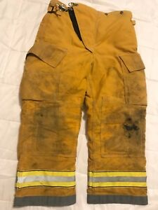 Globe Firefighter Turnout Gear Bunker Turnout Pants W Liner 36 X 28